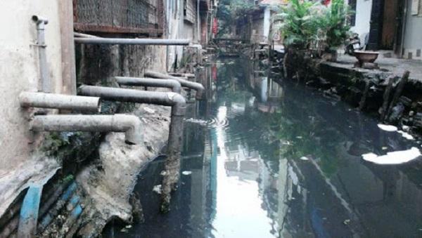 Tác hại của nước thải