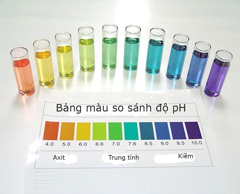 Ý nghĩa của việc đo nồng độ pH là gì?