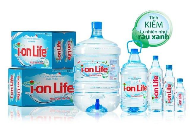 Nước uống tinh khiết Life