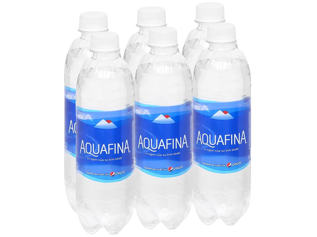 Nước uống đóng chai tinh khiết Aquafina